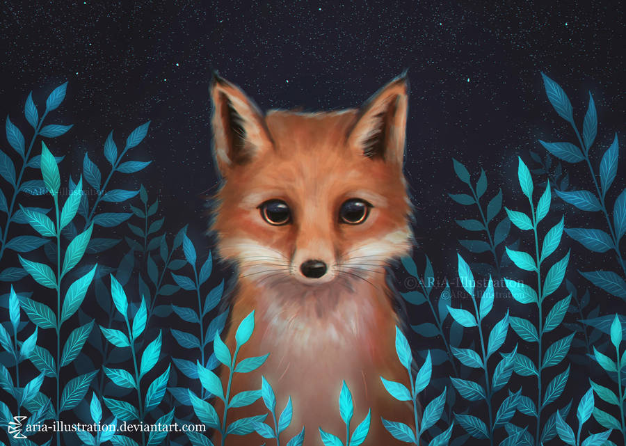 fox_by_aria_illustration_dcnbw4z-fullvie