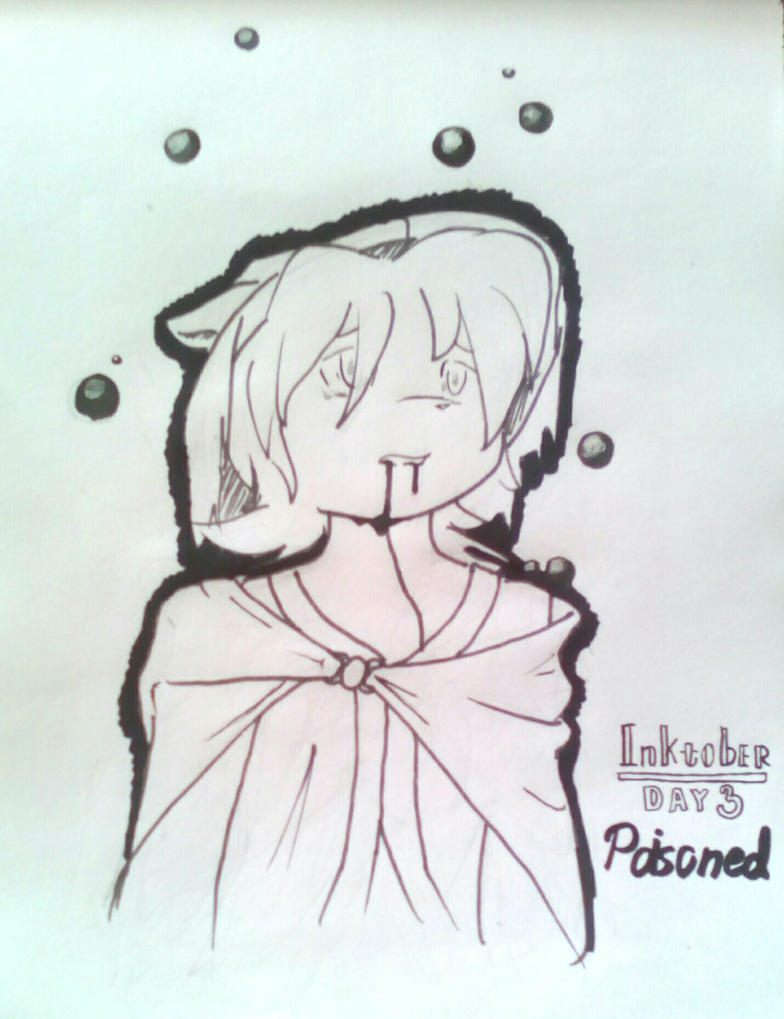 inktober__day_3__poison_by_bulbagrandma-