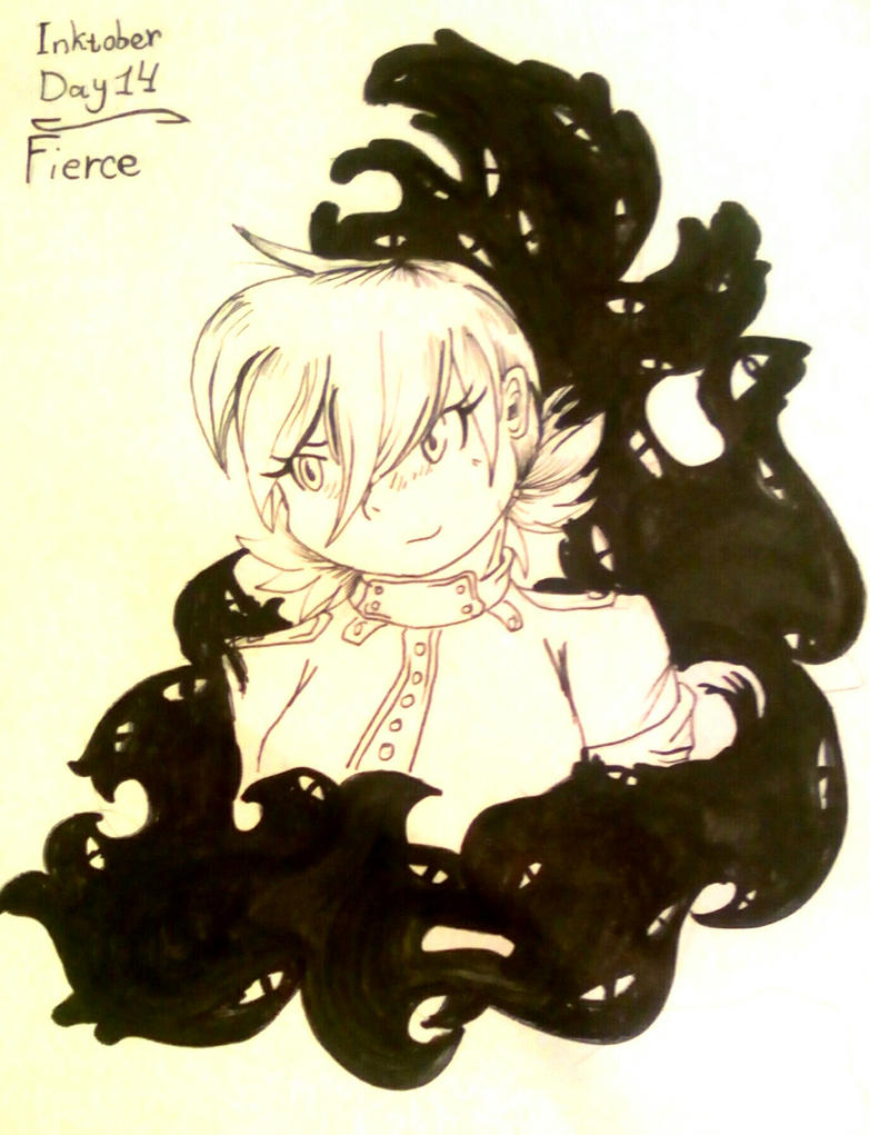 inktober__day_14__fierce__by_bulbagrandm