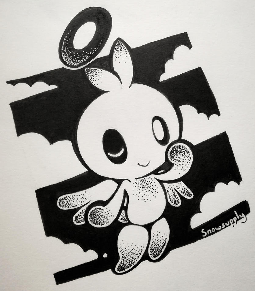 hero_chao_inktober_by_snowsupply-dbqmly2