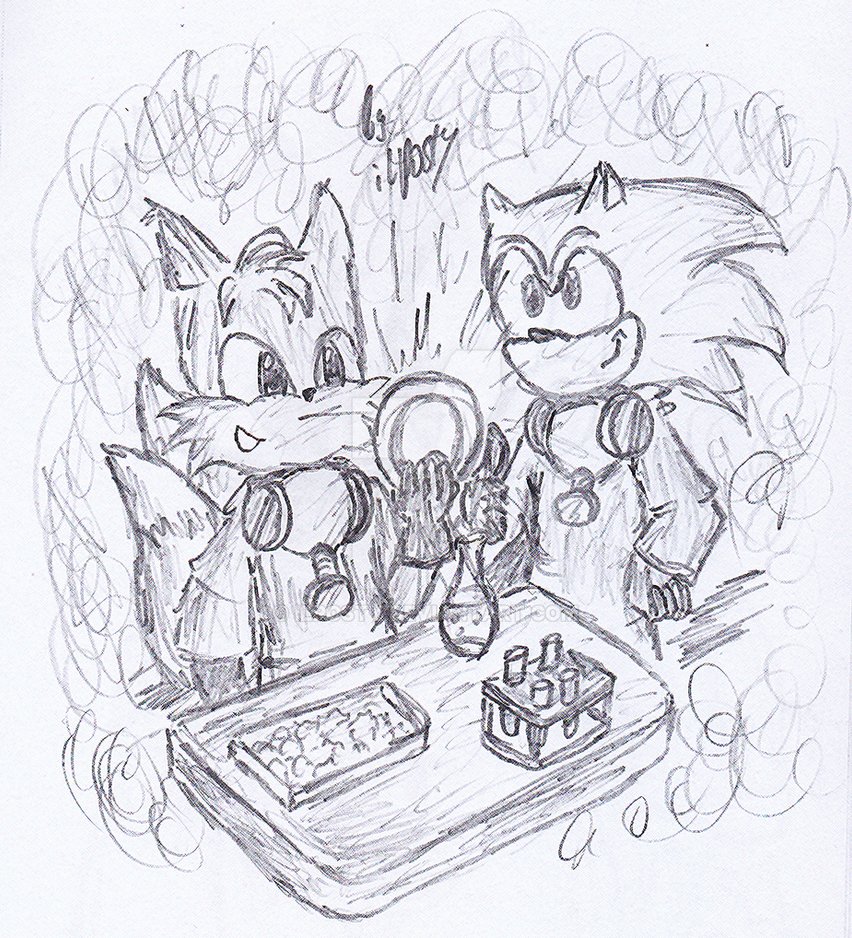 Breaking Bad with Sonic and Tails by ilPOSTY