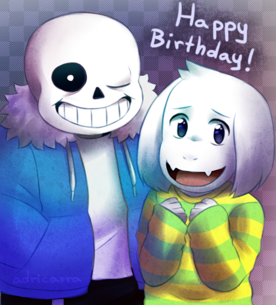 bdgift__sans_and_asriel_by_adricarra-d9h