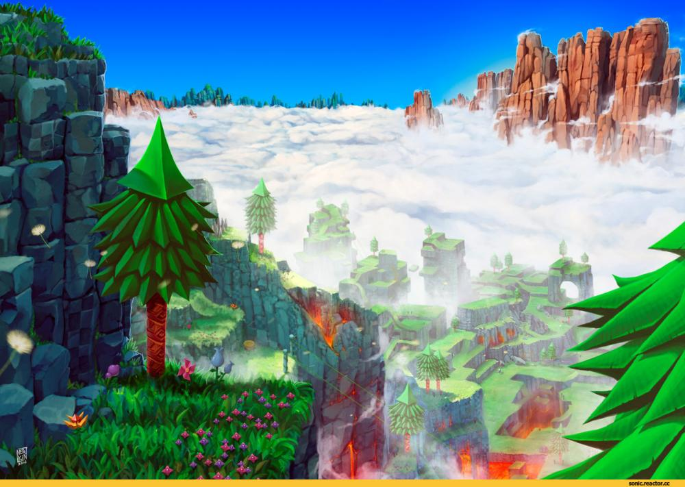 Sonic-the-hedgehog-Sonic-фэндомы-top-hill-zone-2281523.jpeg